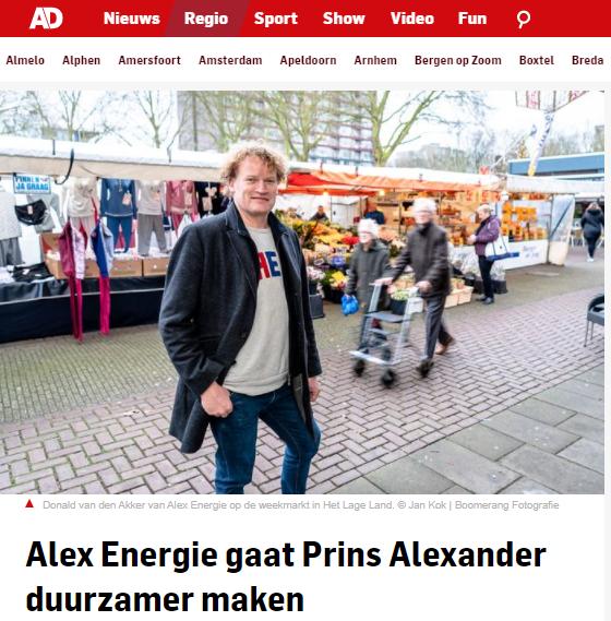In de pers: Algemeen Dagblad 31 Januari 2020