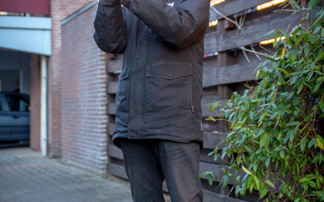 Infrarood warmtescan met warmtebeeldcamera in een huis in Rotterdam Zevenkamp, voor een betere isolatie.