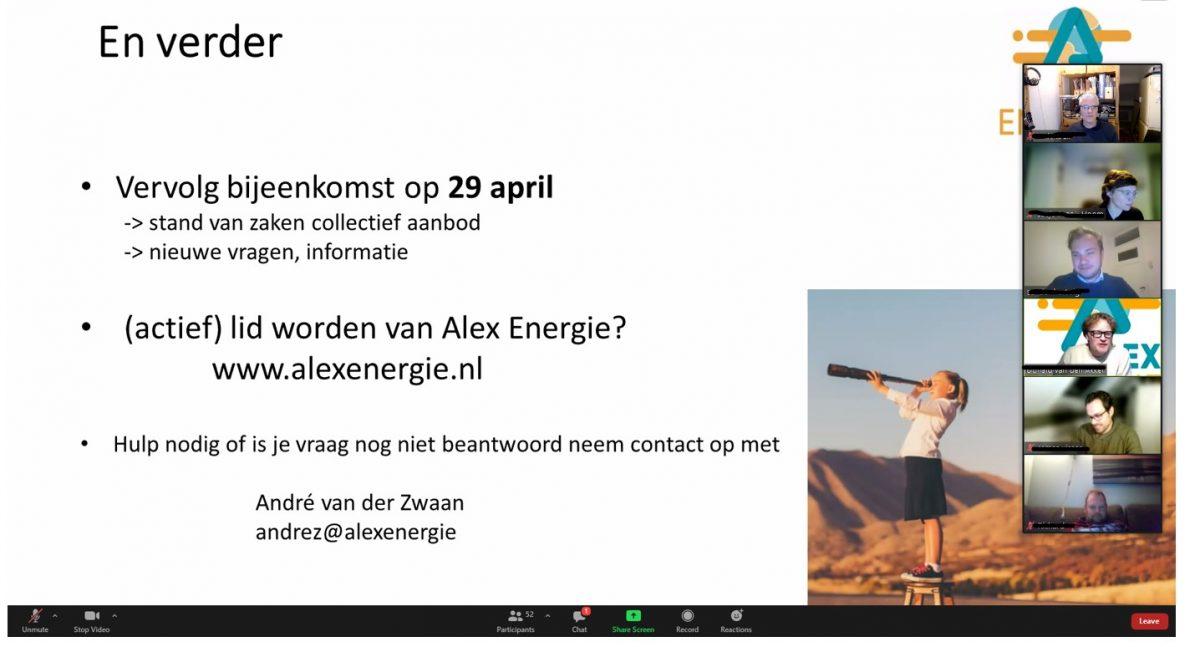 Rotterdam Prins Alexander Ommoord, Eerst Energieavond - Vervolg